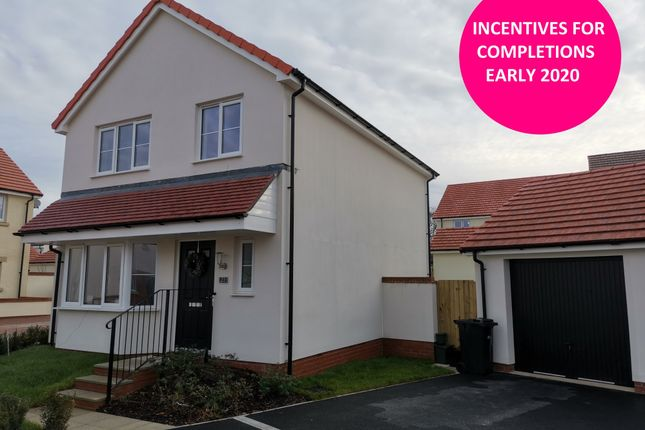 Thumbnail Detached house for sale in Walters Field, Roundswell, Barnstaple