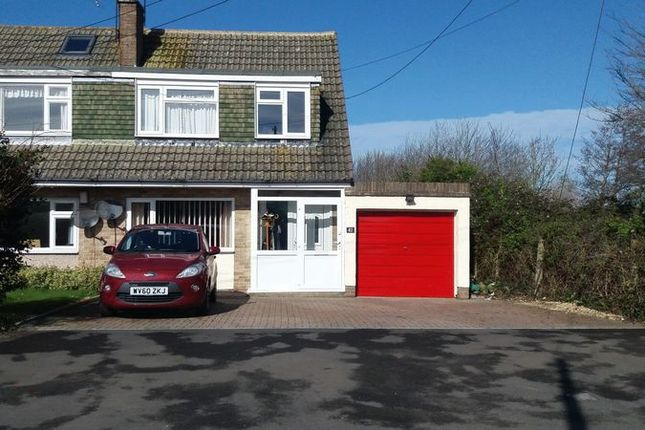 Thumbnail Semi-detached house for sale in Old Banwell Road, Locking Village, Weston-Super-Mare