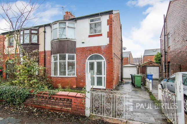 Thumbnail Semi-detached house for sale in Stothard Road, Stretford