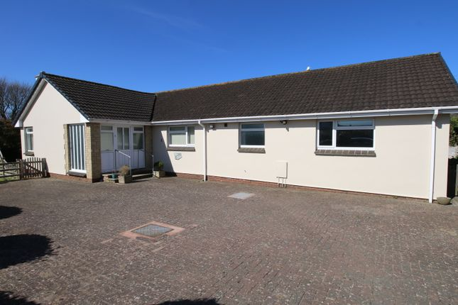 Thumbnail Detached bungalow to rent in Dune View Road, Braunton