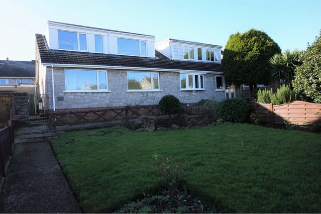 Thumbnail Semi-detached bungalow for sale in Carmarthen Close, Barry