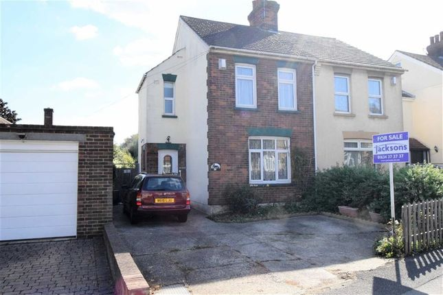 Thumbnail Semi-detached house for sale in Twydall Lane, Gillingham