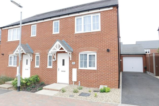 Thumbnail Semi-detached house for sale in Chaffinch Green, Lower Stondon, Henlow, Beds