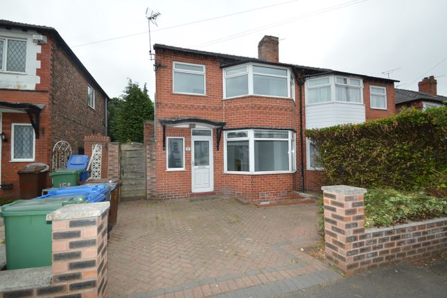 Thumbnail Semi-detached house to rent in Albert Avenue, Prestwich, Manchester