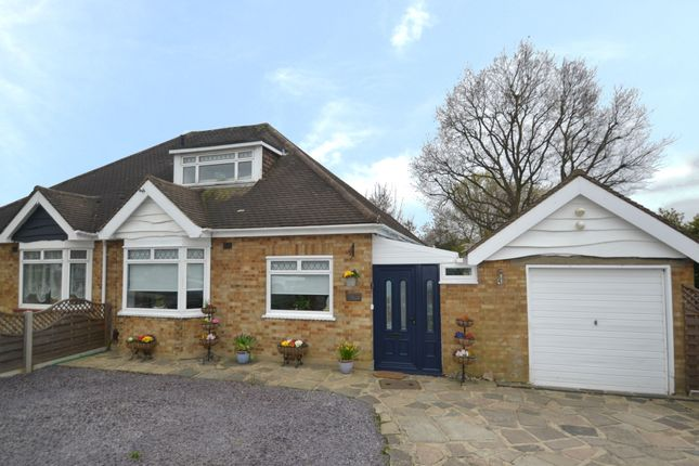Thumbnail Semi-detached bungalow for sale in Highfield Road, Collier Row, Romford