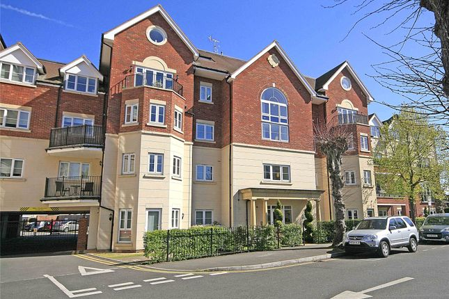 Thumbnail Flat for sale in Rosemount Avenue, West Byfleet, Surrey