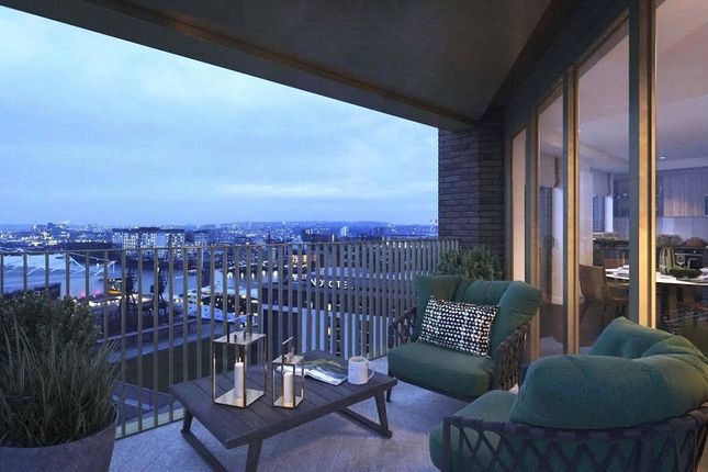 Thumbnail Flat for sale in Royal Dock West, Royal Victoria Dock, London