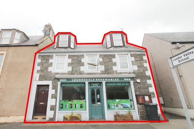 Thumbnail Terraced house for sale in The Old Post Office, High Street, Earlston Galashiels Scottish Borders TD46Bs