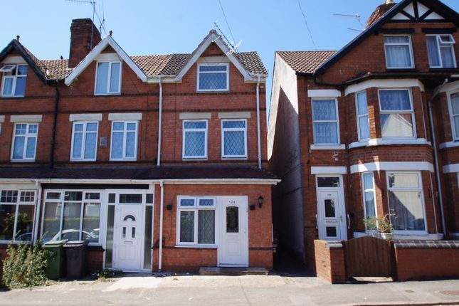 Thumbnail End terrace house for sale in Lodge Road, Redditch