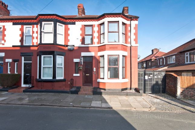 Thumbnail End terrace house for sale in Loreburn Road, Wavertree, Liverpool