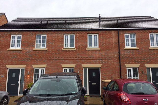 Thumbnail Terraced house for sale in Angell Drive, Market Harborough