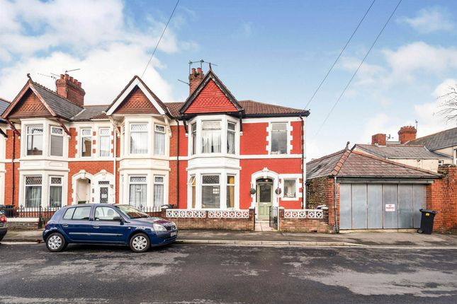 End terrace house for sale in Coveny Street, Splott, Cardiff