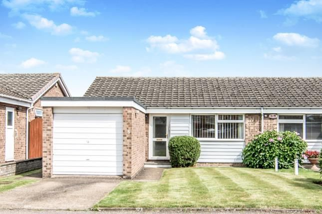 Thumbnail Semi-detached house for sale in Lydford Close, Bedford, Bedfordshire