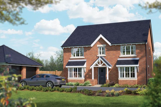 "Thumbnail Detached house for sale in ""The Winchester"" at Crewe Road, Haslington, Crewe"