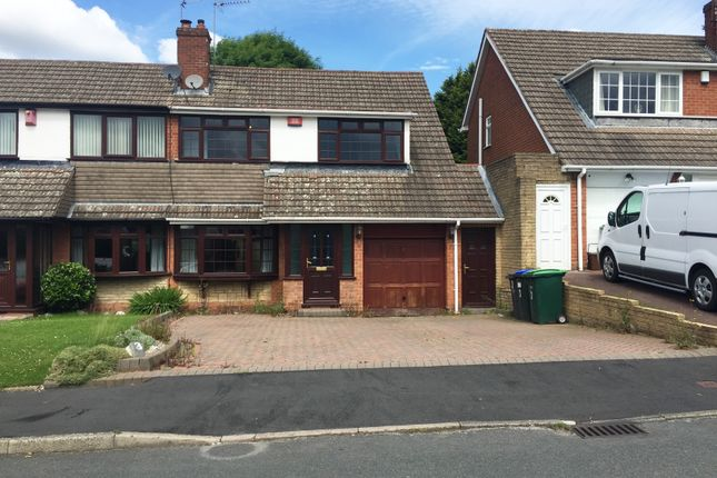 Thumbnail Semi-detached house to rent in Blythefield Aveune, Great Barr