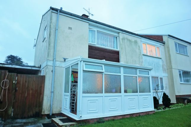 Semi-detached house for sale in Falcon Road, Haverfordwest