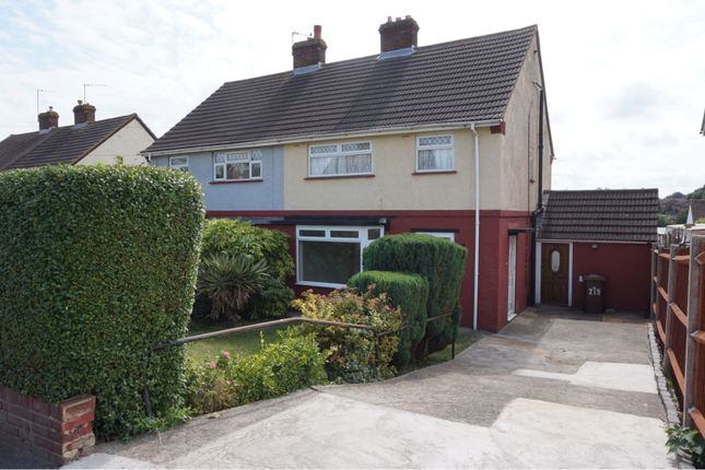 Thumbnail Semi-detached house to rent in Wayfield Road, Chatham