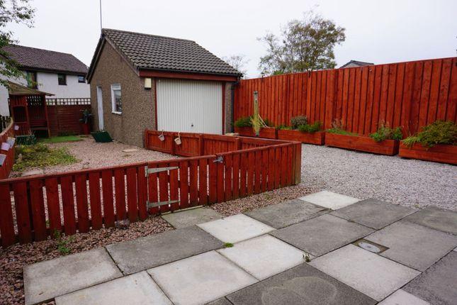 Rear Garden of Cairngrassie Drive, Aberdeen AB12