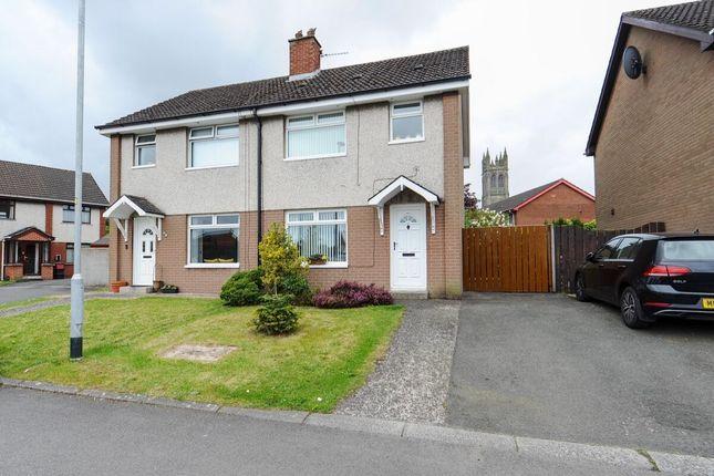 Thumbnail Semi-detached house for sale in Mcarthur Court, Belfast