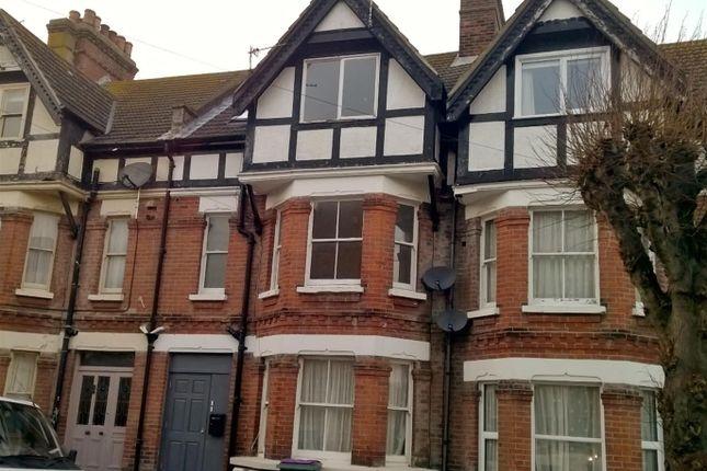 Thumbnail 3 bed flat to rent in Cambridge Gardens, Folkestone, Kent