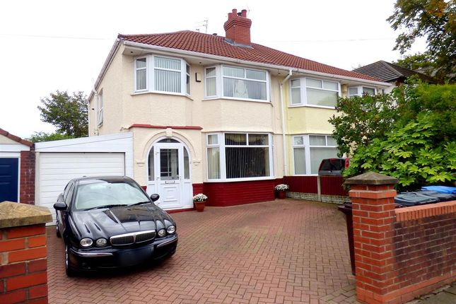 Thumbnail Semi-detached house for sale in Church Road, Huyton, Liverpool