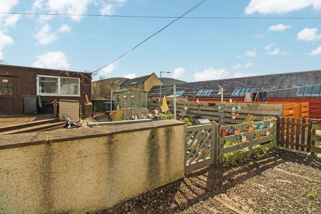 Rear Garden of Jubilee Road, Walkerburn EH43