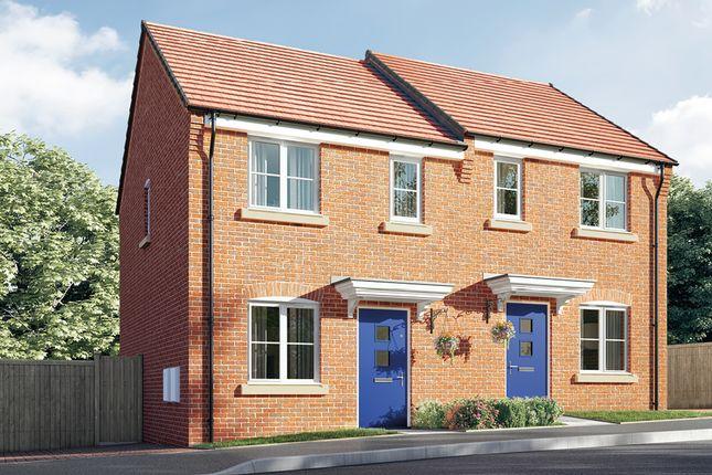 Semi-detached house for sale in Saints Quarter, Steelhouse Lane, Wolverhampton, West Midlands