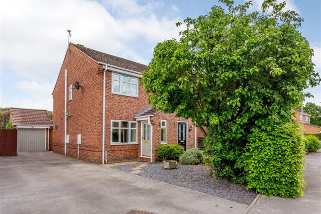 Thumbnail Semi-detached house for sale in Kendal Gardens, Tockwith, York