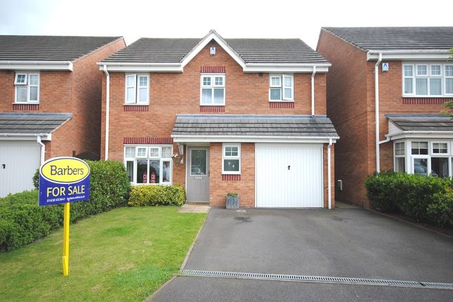 4 bed detached house for sale in Darwin Close, Market Drayton