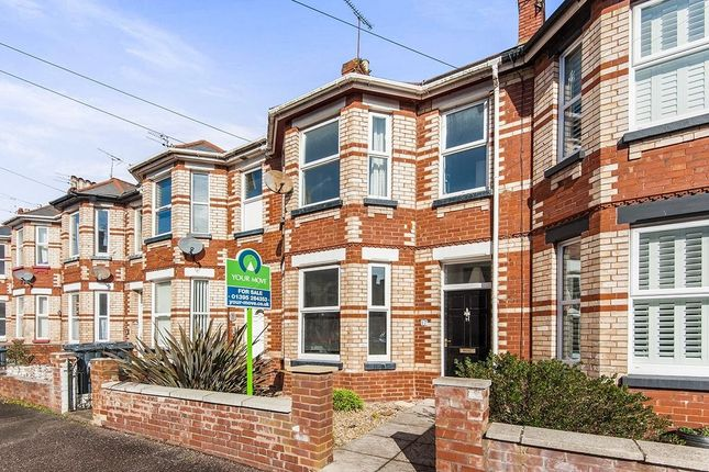 Thumbnail Terraced house to rent in Waverley Road, Exmouth