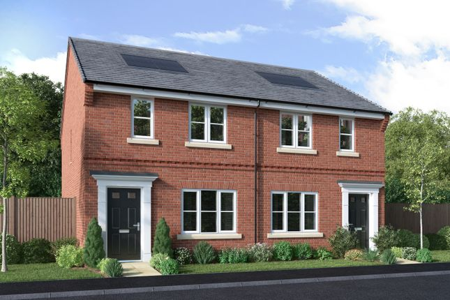 Thumbnail Semi-detached house for sale in Off Winchester Road, Boorley Green