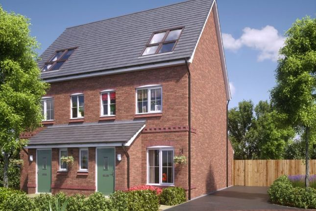 Thumbnail Semi-detached house for sale in Rectory Lane, Standish, Wigan