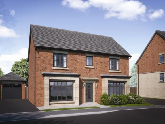 Thumbnail Detached house for sale in Heatherley Wood Alderley Park, Nether Alderley, Cheshire