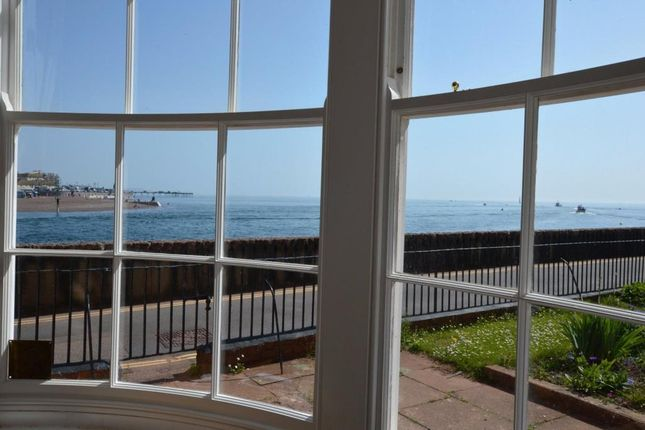 Thumbnail Flat to rent in Marine Parade, Shaldon, Devon