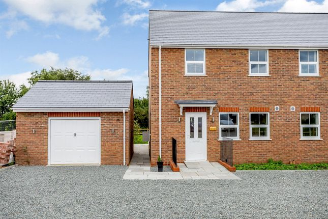 Thumbnail Semi-detached house for sale in Ugg Mere Court Road, Ramsey Heights, Huntingdon