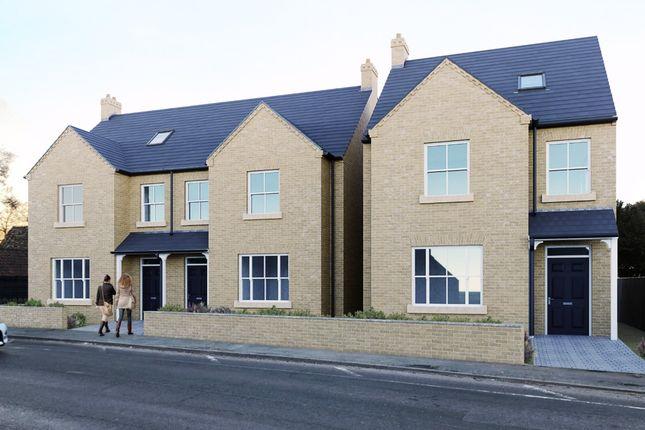 Thumbnail Semi-detached house for sale in High Street, Milton, Cambridge