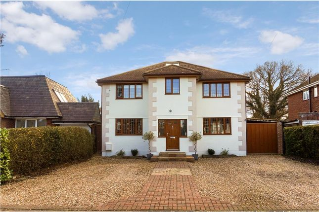 Thumbnail 5 bedroom detached house for sale in Cabrera Close, Virginia Water