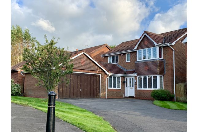 4 bed detached house for sale in Criccieth Close, Buckley CH7