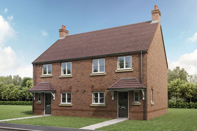 """Thumbnail Semi-detached house for sale in """"The Eveleigh"""" at Gallows Hill, Warwick"""