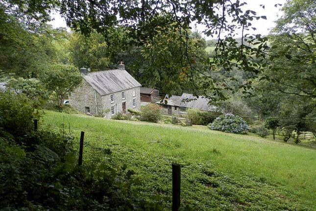 Thumbnail Detached house for sale in Ffostrasol, Llandysul