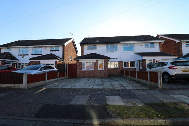Thumbnail Semi-detached house to rent in Trent Close, Farnworth, Widnes