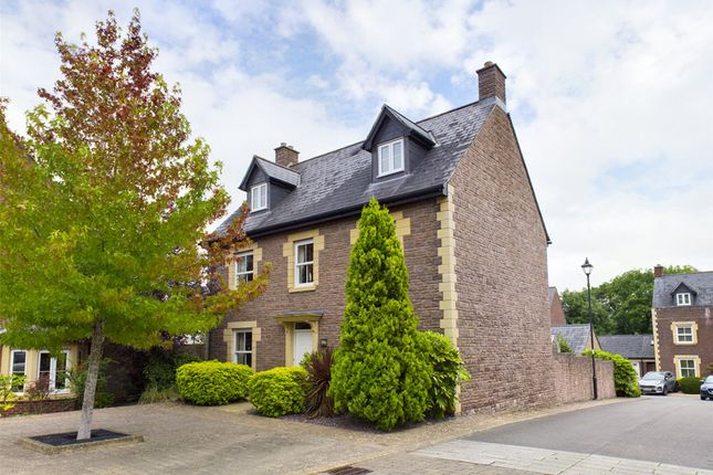 Thumbnail Detached house for sale in Croesonen Gardens, Abergavenny, Monmouthshire