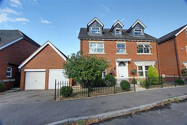Thumbnail Detached house to rent in Tamarisk Way, Weston Turville, Aylesbury