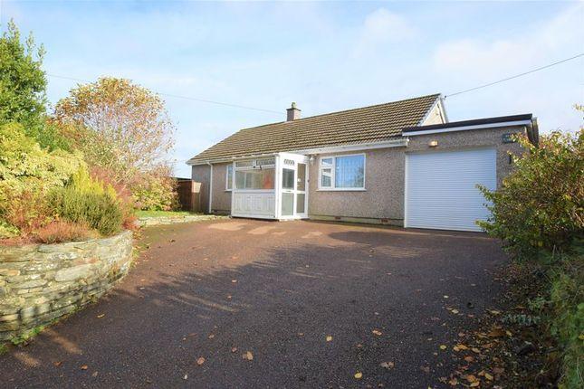 Thumbnail Detached bungalow for sale in St. Germans Road, Callington