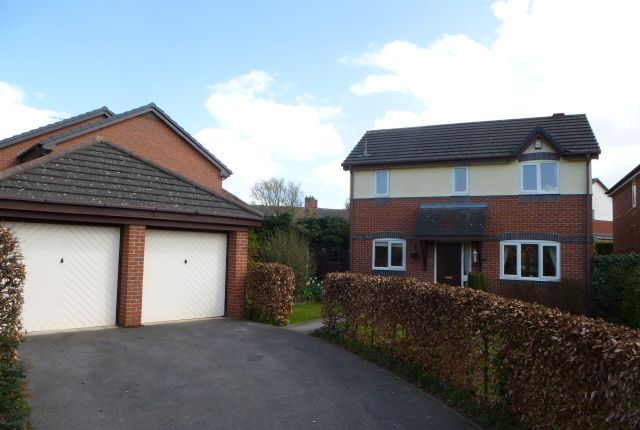 Thumbnail Detached house to rent in Abbey Fields, Wistaston, Crewe, Cheshire