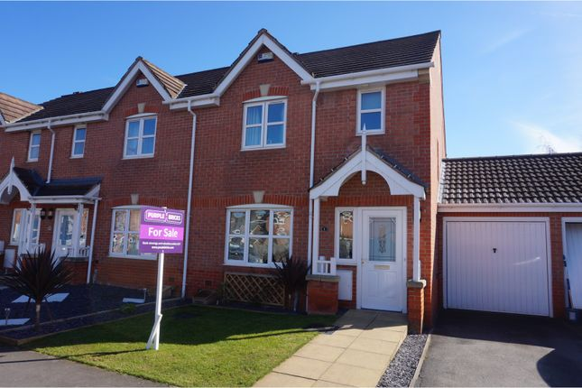 Thumbnail Semi-detached house for sale in Calvert Close, Langley Mill