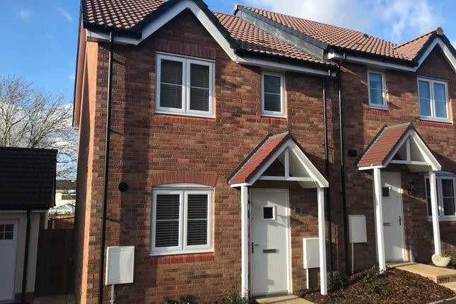 Thumbnail Semi-detached house to rent in Cwrt Bevan, Merthyr Tydfil