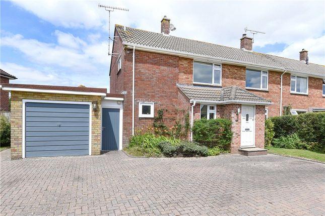 Thumbnail Semi-detached house for sale in Mellstock Avenue, Dorchester