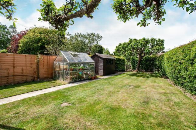 Garden of Ridgeway Crescent, Tonbridge, Kent, . TN10
