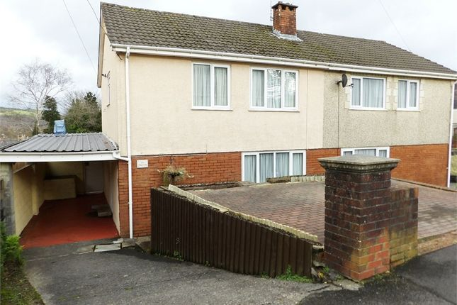 Thumbnail Semi-detached house for sale in Cefn Road, Glais, Swansea, West Glamorgan